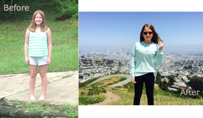 Teen weight loss success story: Kurbo kid Meg reduced BMI By 11%**