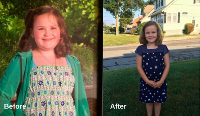 Child Weight Loss Success Story: Rebecca loses 19 pounds and lowers her BMI by 10%!**