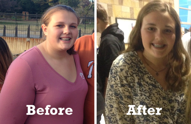 Teen Weight Loss Success Story: Jillian, 14, transforms her teenage experience with newfound confidence and health**