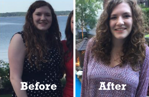 Teen Weight Loss Success Story: Juliana, age 15, loses 40 pounds by adopting the Kurbo model of lifestyle change**