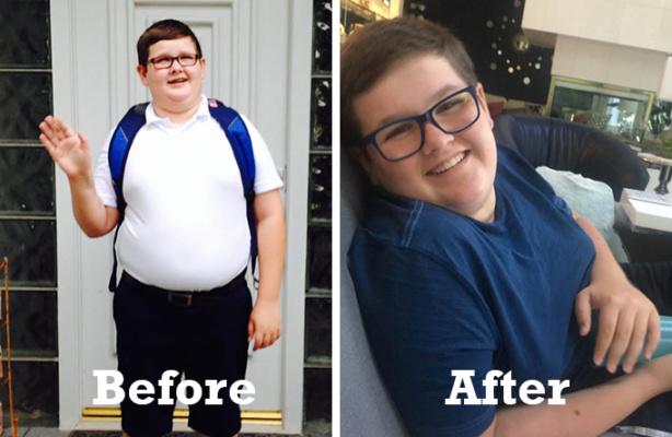 Teen Weight Loss Success Story: After losing 19 lbs, Spencer is Turning his Life Around For The Better**