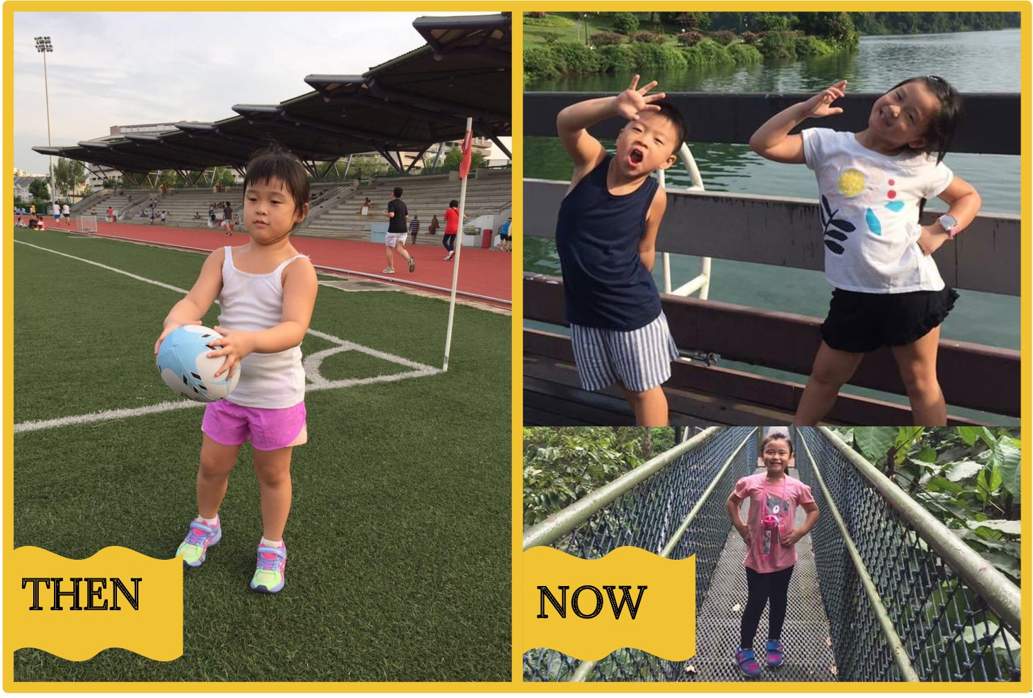 Singapore Pre-school Success Story: With the help of Mom and a Kurbo coach, Emma, 6, and Noah, 4, set themselves up for a lifetime of healthy habits.**