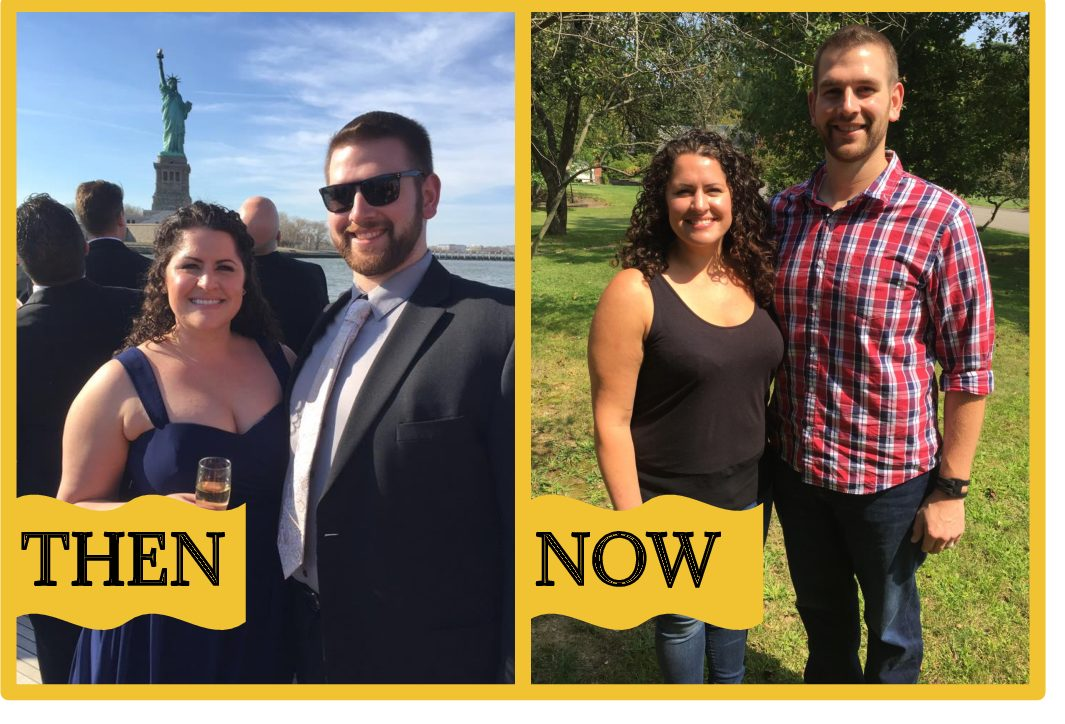 Liz and Justin, 34 and 33, lose over 80 pounds together and reignite their relationship with the help of one wonderful Kurbo coach**