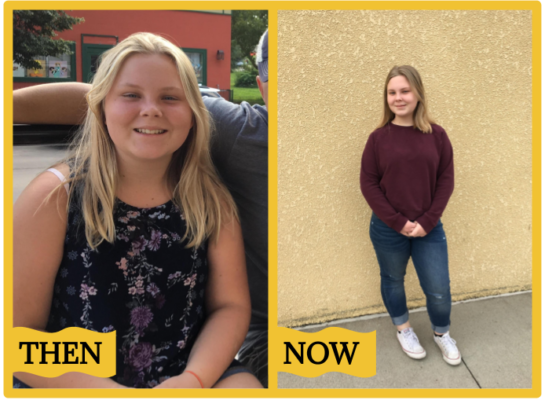 Success Story: Ella, 13, learned how to live a healthy life while losing 10 pounds along the way